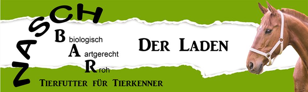 Nasch-BAR Tierfutter für Tierkenner-Logo